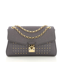 Louis Vuitton Saint Germain Handbag Studded Monogram 3814582