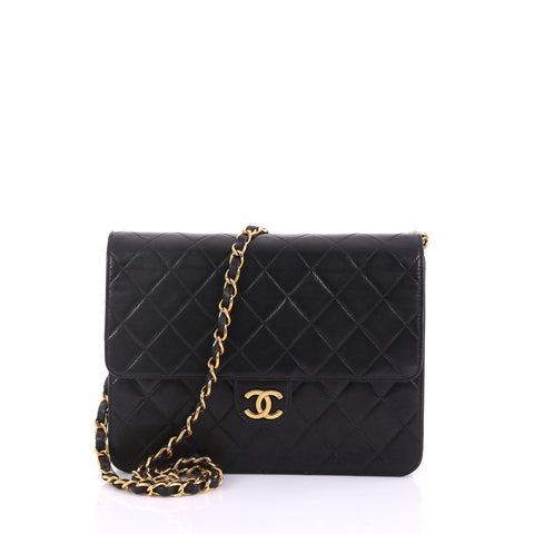 09c43f5b0f99c3 Chanel Vintage Clutch with Chain Quilted Leather Small 38218108 – Rebag