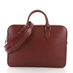 Louis Vuitton Dandy Briefcase Epi Leather MM Red 3821821