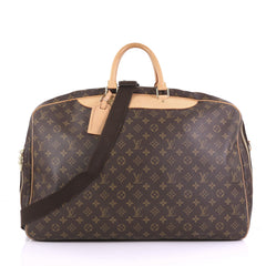 Louis Vuitton Alize Bag Monogram Canvas 2 Poches Brown 3821823