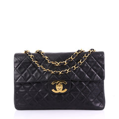 Chanel Vintage Classic Single Flap Bag Quilted Lambskin 38218242