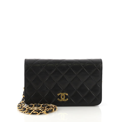 45ca5f037a3d44 Chanel Vintage 3 Way Full Flap Bag Quilted Lambskin Mini 3821885 – Rebag