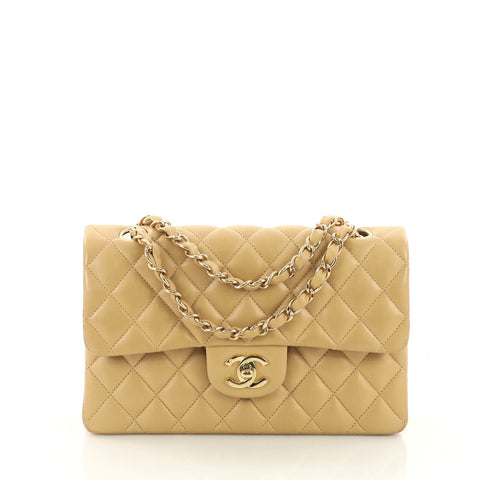 Buy Chanel Vintage Classic Double Flap Bag Quilted Lambskin 38440125 – Rebag 49dcd2500beca