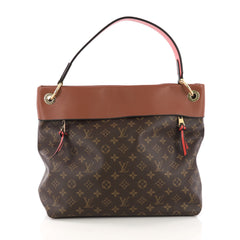 Louis Vuitton Tuileries Hobo Monogram Canvas with Leather 384431