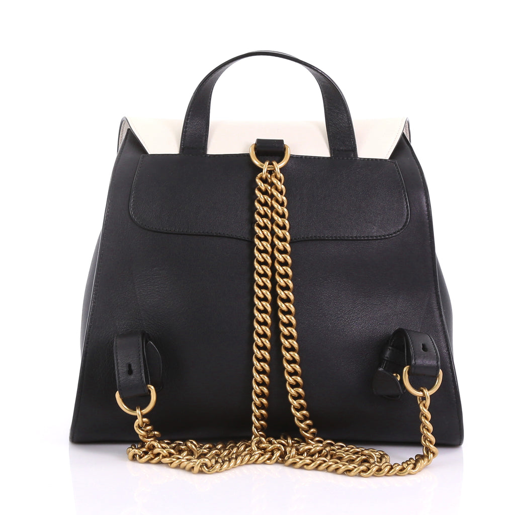 53542994a1be Gucci Animalier Malin Backpack Studded Leather Medium Black 384492 ...
