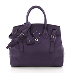 Ralph Lauren Collection Soft Ricky Handbag Leather 33 - Rebag