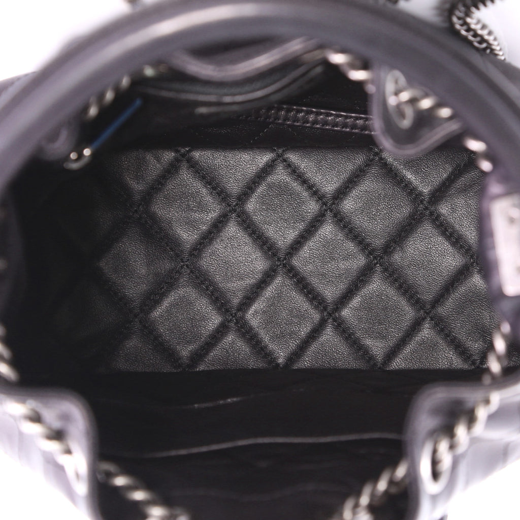 2390fcbc81e6 Chanel Urban Luxury Backpack Quilted Lambskin Medium Black 384971 ...