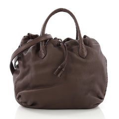 Bottega Veneta Convertible Drawstring Tote Leather with 3852666