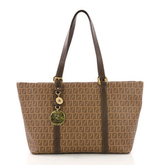 Fendi Superstar Tote Zucchino Coated Canvas Large