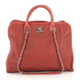 Chanel Up In The Air Convertible Tote Perforated Leather 3855773
