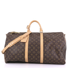 Louis Vuitton Keepall Bandouliere Bag Monogram Canvas 55 3858674