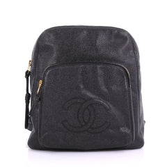 Chanel Vintage Pocket Backpack Caviar Medium 3859750
