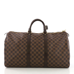 Louis Vuitton Model: Keepall Bag Damier 50 Brown 38632/9