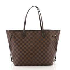 Louis Vuitton Model: Neverfull NM Tote Damier MM  Brown  38700/1