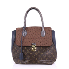 Louis Vuitton Majestueux Tote Monogram Canvas Brown 3887401