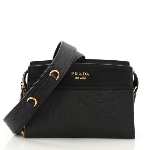 cb1c19459 Prada Esplanade Crossbody Bag Saffiano Leather Small 390121 – Rebag