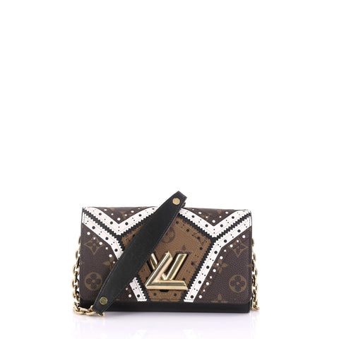 louis vuitton twist chain wallet limited edition