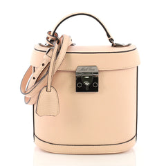 Mark Cross Benchley Bag Leather Pink 390961
