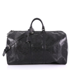 Gucci Carry On Convertible Duffle Bag GG Imprime Large 3910840 f2902f26d9303
