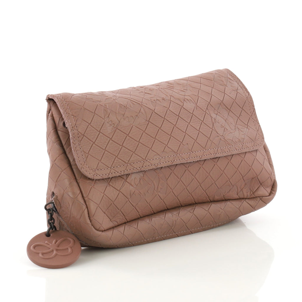 dc657f50bd Bottega Veneta Expandable Chain Crossbody Bag Embossed 391332 – Rebag