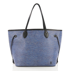 Louis Vuitton Neverfull Tote Epi Leather MM Blue 3914935