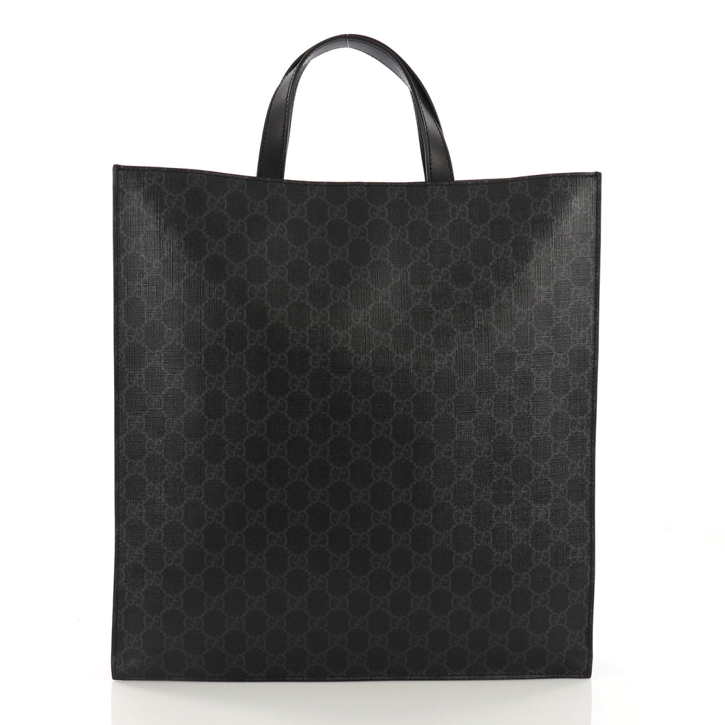 844a265ae81 Gucci Courrier Convertible Soft Open Tote GG Coated Canvas 3914993 ...