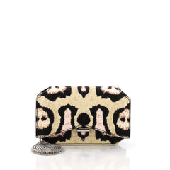 Givenchy Bow Cut Chain Crossbody Bag Printed Leather Mini 3921210