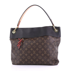Louis Vuitton Tuileries Hobo Monogram Canvas with Leather 393851