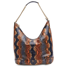 Soho Handbag Python Shoulder Medium