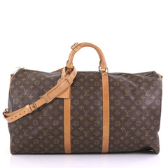 Louis Vuitton Keepall Bandouliere Bag Monogram Canvas 60 3950326