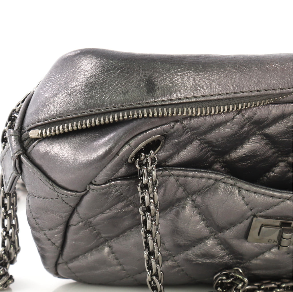 0ecb3a5dcb1c Chanel Reissue Camera Bag Quilted Aged Calfskin Small Gray 3951519 ...