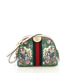 Gucci Ophidia Dome Shoulder Bag Printed GG Coated Canvas 3951585