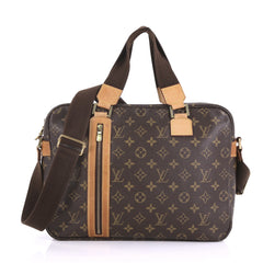 Louis Vuitton Sac Bosphore Handbag Monogram Canvas