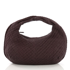 Bottega Veneta Belly Hobo Mini Ponza Leather Large Purple 395721
