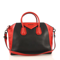 Givenchy Antigona Bag 3D Embossed Leather Medium Red 396021