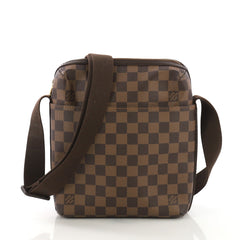 Louis Vuitton Trotteur Beaubourg Handbag Damier Brown
