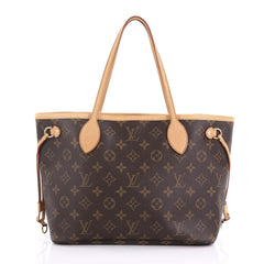 Louis Vuitton Neverfull NM Tote Monogram Canvas PM Brown 3961372