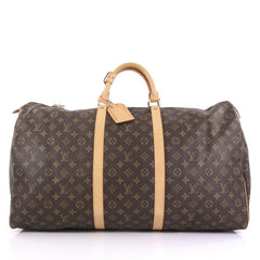 Louis Vuitton Keepall Bag Monogram Canvas 60 Brown 3961718