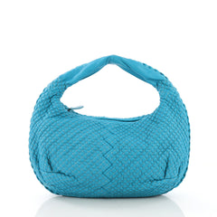 Bottega Veneta Belly Hobo Mini Ponza Leather Medium Blue 3961768
