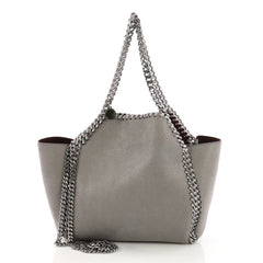 Stella McCartney Falabella Reversible Tote Shaggy Deer 3961774