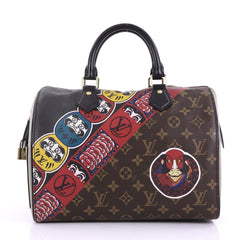 Louis Vuitton Speedy Handbag Limited Edition Kabuki Monogram 396361