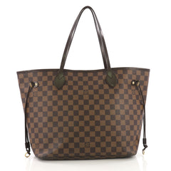Louis Vuitton Neverfull NM Tote Damier MM Brown 396461