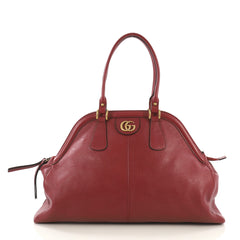 Gucci RE(BELLE) Top Handle Bag Leather Large Red 3966713