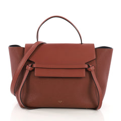 Celine Belt Bag Grainy Leather Mini Red 3967513