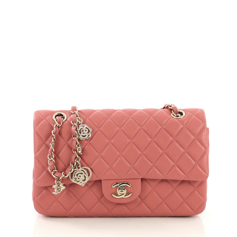 45916600d174 Chanel Valentine Crystal Hearts Flap Bag Quilted Lambskin 3967577 – Rebag