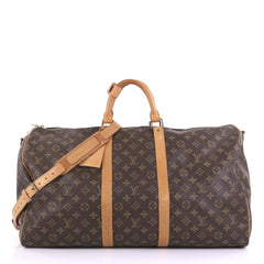 Louis Vuitton Keepall Bandouliere Bag Monogram Canvas 55 397133