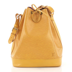 Louis Vuitton Noe Handbag Epi Leather Large Yellow 397139