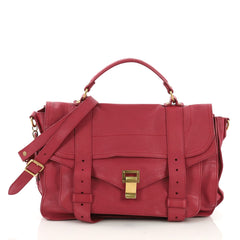 Proenza Schouler PS1 Satchel Leather Medium Pink 397261