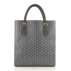Goyard Comores Tote Coated Canvas GM Gray 397471