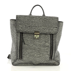 3.1 Phillip Lim Pashli Backpack Leather Black 397651